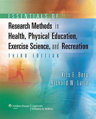 Essentials of Research Methods in Health, Physical Education (BOK)