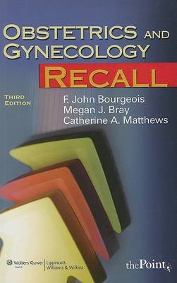 Obstetrics and Gynecology Recall (BOK)