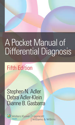 A Pocket Manual of Differential Diagnosis (BOK)