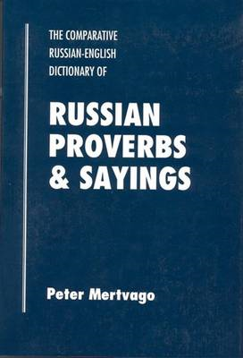 Dictionary of Russian Proverbs and Sayings (BOK)