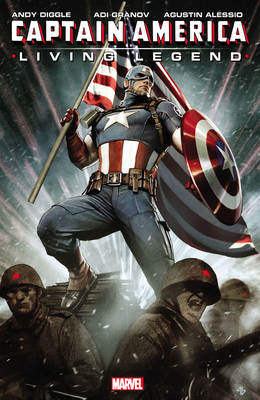 Captain America: Living Legend (BOK)