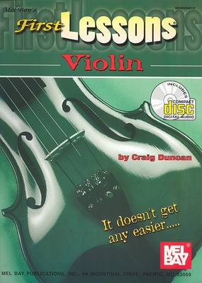 First Lessons Violin (BOK)
