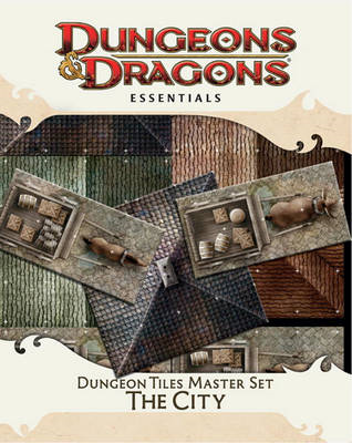 Dungeon Tiles Master Set - the City (BOK)