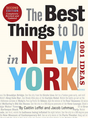 The Best Things to Do in New York (BOK)