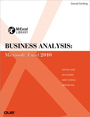 Business Analysis: Microsoft Excel 2010 (BOK)