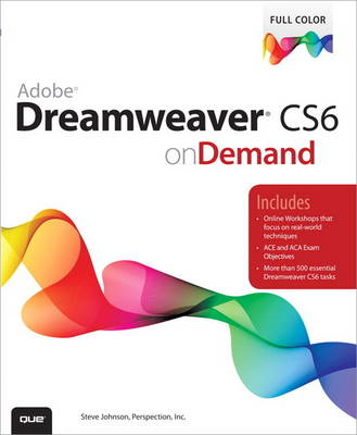 Adobe Dreamweaver CS6 on Demand (BOK)