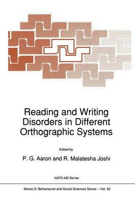 Reading and Writing Disorders in Different Orthographic Syst (BOK)