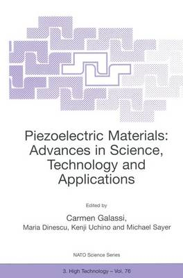 Piezoelectric Materials: Advances in Science, Technology and (BOK)