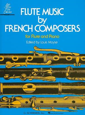 Flute Music By French Composers For Flute And Piano (BOK)