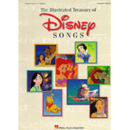The Illustrated Treasury of Disney Songs (BOK)