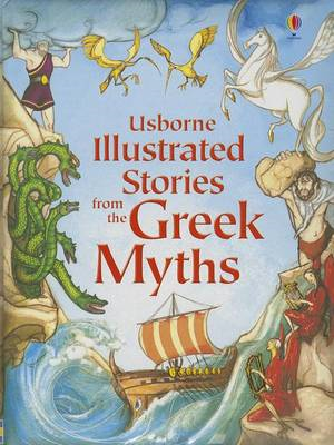 Illustrated Stories from the Greek Myths (BOK)
