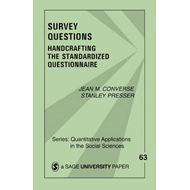 Survey Questions: Handcrafting the Standardized Questionnaire (BOK)