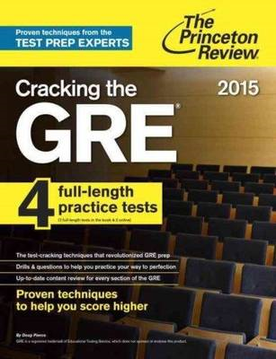 Cracking the GRE with 4 Practice Tests: 2017 (BOK)
