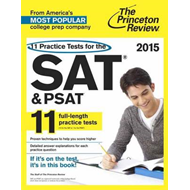 11 Practice Tests for the SAT and PSAT (BOK)