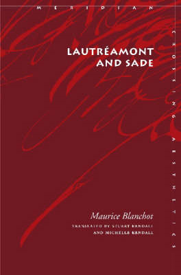 Lautreamont and Sade (BOK)