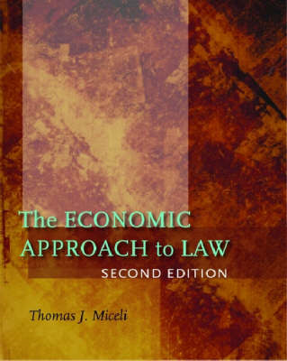 The Economic Approach to Law (BOK)