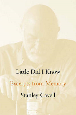 Little Did I Know: Excerpts from Memory (BOK)