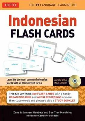 Indonesian in a Flash (BOK)