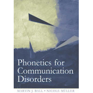 Phonetics for Communication Disorders (BOK)