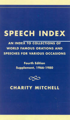 Speech Index (BOK)