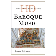 Historical Dictionary of Baroque Music (BOK)