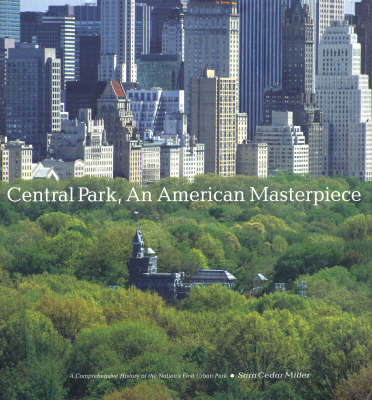 Central Park, an American Masterpiece (BOK)