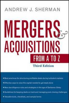 Mergers and Acquisitions from A to Z (BOK)