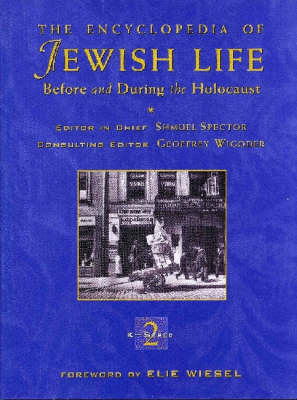 The Encyclopedia of Jewish Life before and during the Holocaust (BOK)