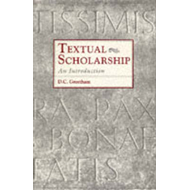 Textual Scholarship: An Introduction (BOK)