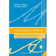 Mathematical Analysis: Foundations and Advanced Techniques for Functions of Several Variables: 2012 (BOK)