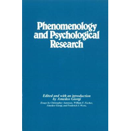 Phenomenology and Psychological Research (BOK)