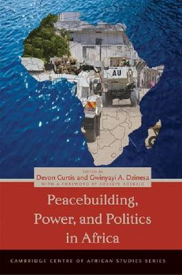 Peacebuilding, Power, and Politics in Africa (BOK)