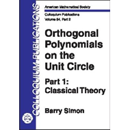 Orthogonal Polynomials on the Unit Circle (BOK)