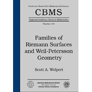Families of Riemann Surfaces and Weil-Petersson Geometry (BOK)