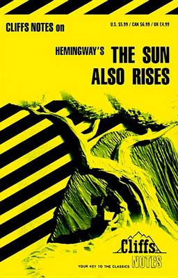 "Notes on Hemingway's ""Sun Also Rises"" (BOK)"