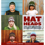 Hatheads: 1 Man + 2 Knitting Needles = 50 Fun Hat Designs (BOK)