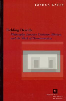 Fielding Derrida: Philosophy, Literary Criticism, History, and the Work of Deconstruction (BOK)