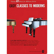 Easy Classics to Moderns Piano (BOK)