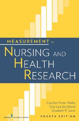 Measurement in Nursing and Health Research (BOK)