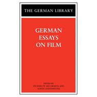 German Essays on Film (BOK)