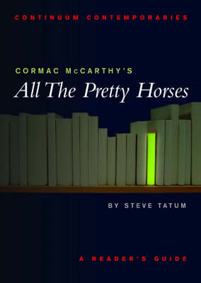 Cormac Mccarthy's All the Pretty Horses (BOK)