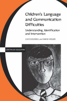 Children's Language and Communication Difficulties (BOK)
