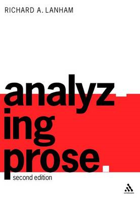 Analyzing Prose (BOK)