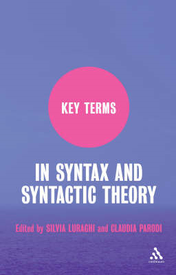 Key Terms in Syntax and Syntactic Theory (BOK)