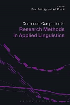 Continuum Companion to Research Methods in Applied Linguistics (BOK)
