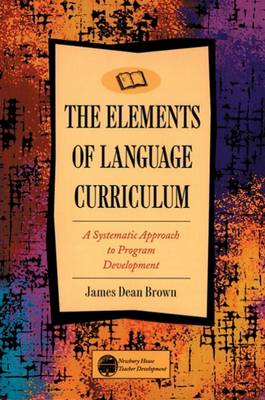 Elements of Language Curriculum (BOK)