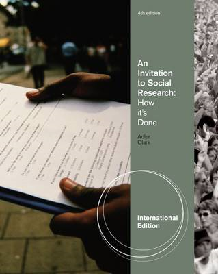 An Invitation to Social Research: How It's Done (BOK)