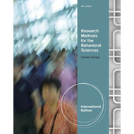Research Methods for the Behavioral Sciences (BOK)