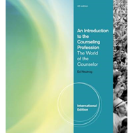An Introduction to the Counseling Profession: The World of the Counselor (BOK)