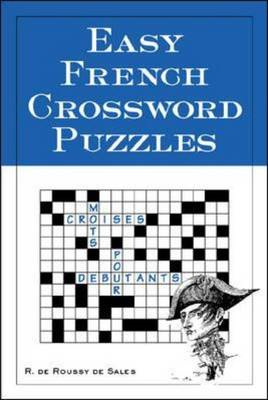 Easy French Crossword Puzzles (BOK)